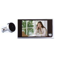Rusia 2017 Nueva ojos de vídeo mirilla de la puerta de 3.5 pulgadas LCD de 0.5 Megapíxeles de la cámara 120 grados de ángulo de visión de ampliar electrónico ojo
