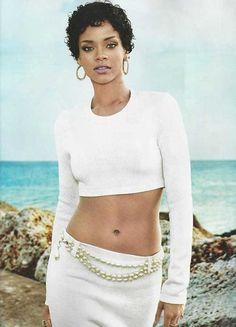 Brilliant Rihanna Short Curly Hair Broadway Hairstyles Pinterest Short Short Hairstyles For Black Women Fulllsitofus