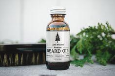 BEARD OIL: Premium Beard Oil Conditioner (Sandalwood, Cedarwood, Orange Scent) - Natural Beard Care, Beard Oil Made in Canada, Gifts for Him