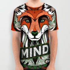Mind All Over Print Shirt