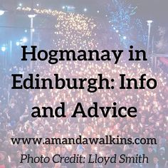 Latest on the blog: learn all about #Hogmanay in #Edinburgh! This annual #festival is epic but you better plan early so you don't miss out on some really incredible events. Take a look at what Hogmanay is all about plus some of my insider tips. Link in bio or visit my website for all my Edinburgh #expat explorations and insights.