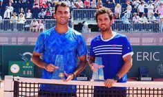Horia Tecau and Julian Rojer- Geneva 2017 Rafael Nadal, Roger Federer, Tennis Players, Geneva, Mens Tops, T Shirt, Fashion, Moda, Tee Shirt