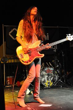 Paz Lenchantin, Evelyn Nesbit, Fender Precision Bass, Women Of Rock, Guitar Girl, A Perfect Circle, Go Blue, Metalhead, My Music