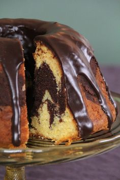 Marble Cake, Let Them Eat Cake, Muffins, Goodies, Food And Drink, Pudding, Yummy Food, Cooking, Party