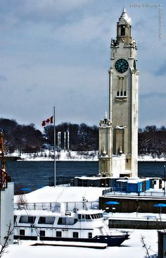 Horloge du Vieux-port de Montréal