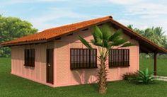 Pré-fabricada em concreto de 63 módulos. Contém 3 quartos, banheiro social, sala de estar, cozinha e abrigo opcional. MEMORIAL DESCRITIVO CASA PADRÃO...