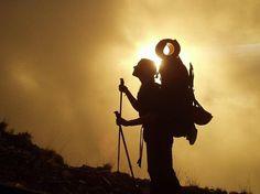Ratgeber: Rucksack richtig reinigen Hiking, Challenges, Silhouette, Outdoor, Concert, Movies, Movie Posters, Life, Hacks