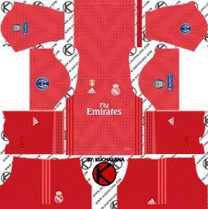 fd4738505 Real Madrid 2018 19 UCL Kit - Dream League Soccer Kits Real Madrid Kit