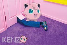 Pokémon Model These 10 High-Fashion Ad Campaigns