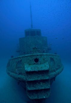 Most Incredible Sunken Ships on Earth Tugboat Rozi, Malta Not much is known about this former tugboat except that it was scu...
