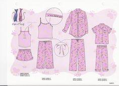 Apparel Design CAD,,Graphic Design, Print and Repeat Patterns by Kristina Benshoff at Coroflot.com