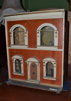 Tennants Auctioneers: Victorian furnished doll's house. .....Rick Maccione-Dollhouse Builder www.dollhousemansions.com