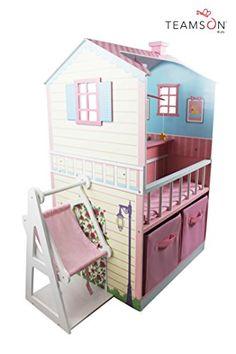 Teamson Kids Pink Baby Nursery Doll House