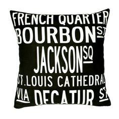 New Orleans pillow <3 @Tracy Stewart Stewart Henderson @Ashley Walters Walters Rogers