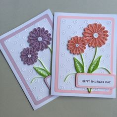 Quilled Happy Mother's Day Cards