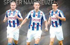 SC Heerenveen 2014/15 Jako Home and Away Kits