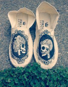 Victorian Skeleton Shoes