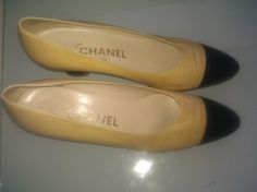 Everything must go sale vintage CHANEL classic 80s kitten heel size 37 and half. $79.00, via Etsy.