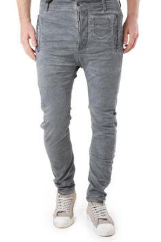 Jeans Uomo Absolut Joy (VI-P2473) colore Grigio