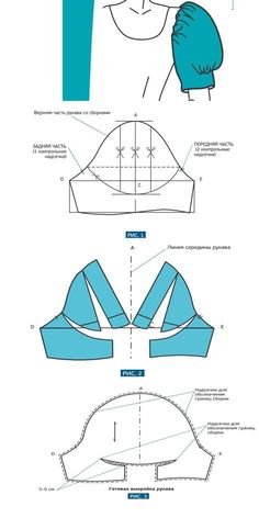 Corset Sewing Pattern, Sewing Paterns, Pattern Drafting Tutorials, Sewing Tutorials, Techniques Couture, Sewing Techniques, Textile Manipulation, Sewing Sleeves, Sewing Blouses