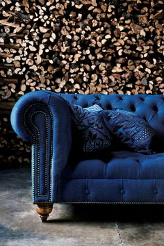 RLH English Chesterfield Tufted Sofa #RLHCollection
