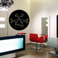 Wall Decal Decor Decals Sticker Art Stylist Hair Salon Beauty Scissors Comb Barber Shop Haircut (M1161) DecorWallDecals http://www.amazon.com/dp/B00KXT15UC/ref=cm_sw_r_pi_dp_vXV2ub0F3FBH6