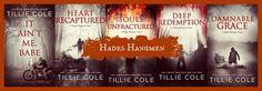 Cover Reveal: Damnable Grace (Hades Hangmen # 5) de Tillie Cole - Livros para Respirar