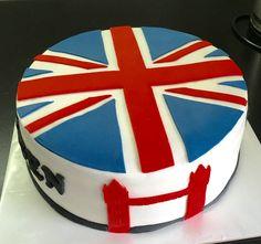 Londen taart, september 2016