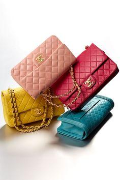 Rosa, amarillo, azul y fucsia. ¡Cambia de color, cambia de bolso!