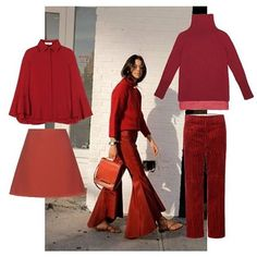 For fall we absolutely love to be dressed in red from head to toe  #clickandpublish #trendfortrend #digitalfashionrevolution   TrendForTrend connects top brands with premium publishers to create engaging contents #clickandpublish