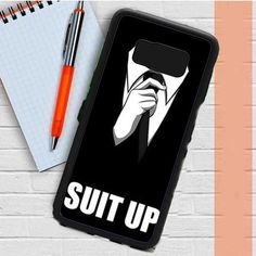52dfdad52160 How I Met Your Mother Suit Up Bw Samsung Galaxy S8 Plus Case Dewantary