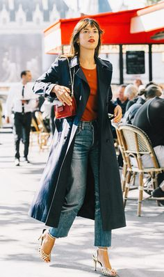 Follow French fashion girls for style inspo