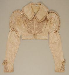 Spencer (image 1) | British | 1820 | silk, willow | Metropolitan Museum of Art | Accession Number: 1987.237.1