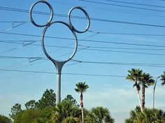 power poles | Wordless Wednesday – Mickey Mouse Power Pole at Walt Disney World ...