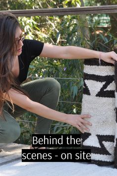 Each rug has been handwoven by a single master weaver. Learn more about the rug weavers of South Africa. Local Women, Wool Rug, South Africa, Behind The Scenes, Hand Weaving, Collections, Photoshoot, Rugs, Photography