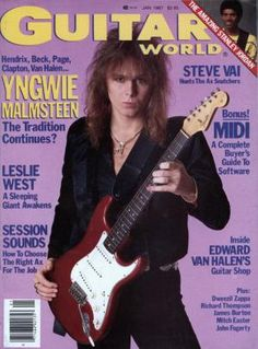 Guitar World Magazine Covers Gallery: Every Issue from 1987 to 1993 | Guitar World
