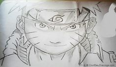 Easy Naruto Drawing in Pencil Sketches with Shade Cool Easy Drawings, Naruto Drawings, Learn To Draw, Pencil Drawings, Hair Style, Sketches, Eyes, Anime, Art