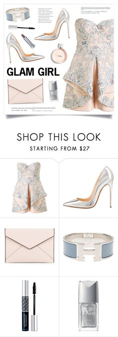 """Glam Girl"" by marina-volaric ❤ liked on Polyvore featuring Mikael D, Rebecca Minkoff, Hermès and Christian Dior"