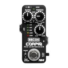 CompIQ MINI Pro Compressor is a unique featured compressor pedal, with qualities rivaled only by expensive studio gear. It provides the amount of control and versatility needed for professional audio compression. Guitar Effects Pedals, Guitar Pedals, Guitar Compressor, Professional Audio, Studio Gear, Ads, Mini, Instagram