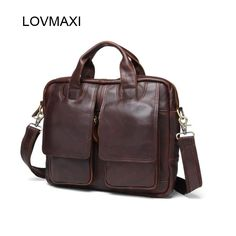 Cheap brand messenger bag, Buy Quality designer messenger bag directly from China messenger bag Suppliers: LOVMAXI Vintage Crazy Horse Genuine Leather Men's handbags Brand Design bags Causal Shoulder Messenger Bags Travel Crossbody Bag Satchel Bags For Men, Crossbody Bags For Travel, Business Briefcase, Briefcase For Men, Crossbody Shoulder Bag, Shoulder Handbags, Handbags For Men, Messenger Bag Men, Leather Men