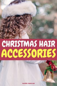 Looking for some cute hair accessories for women? These list of holiday-themed hair decorations will inspire you! Easy Hairstyles For Long Hair, Cute Hairstyles, Holiday List, Grow Long Hair, Christmas Hair, Hair Decorations, Hair Accessories For Women, Hair Care Tips, Hair Tools