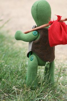 Ernst the turtle: A PDF sewing pattern by ricracsews on Etsy