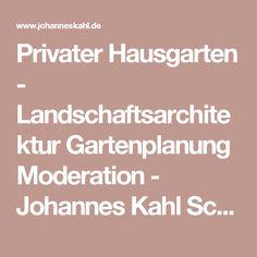Privater Hausgarten - Landschaftsarchitektur Gartenplanung Moderation - Johannes Kahl Schleswig-Holstein