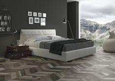 Płytki podłogowe - Kolekcja April - Ape Ceramica - Domus Chevron, Graphite, Bed, Furniture, Home Decor, Yacht Club, Tiles, Graffiti, Decoration Home
