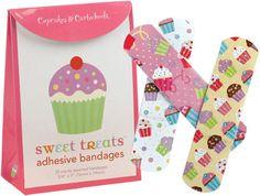 Sweet Treats - Novos band-aids de cupcake