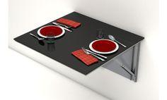 Mesa de cocina abatible Single Viva. Varios colores!