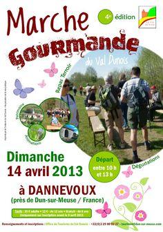 Marche Gourmande du Val Dunois - Dimanche 14 avril 2013 près de Dun-sur-Meuse (Meuse)