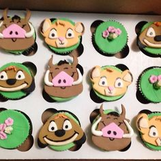 Cupcakes, Cakepops etc Lion King Cupcakes, Baby Simba, Cupcake Decorations, Cookies And Cream, Cakepops, Fondant, Shower Ideas, Icing, Safari