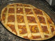 Receita de Torta de carne moída - Tudo Gostoso
