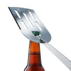 Folding BBQ Tool Set Of 3 #bottlecapopener #BBQ #kitchenessentials